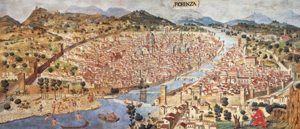 fiorenza, firenze 1490